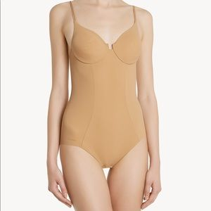 NWT la Perla Underwired bodysuit nude shape wear